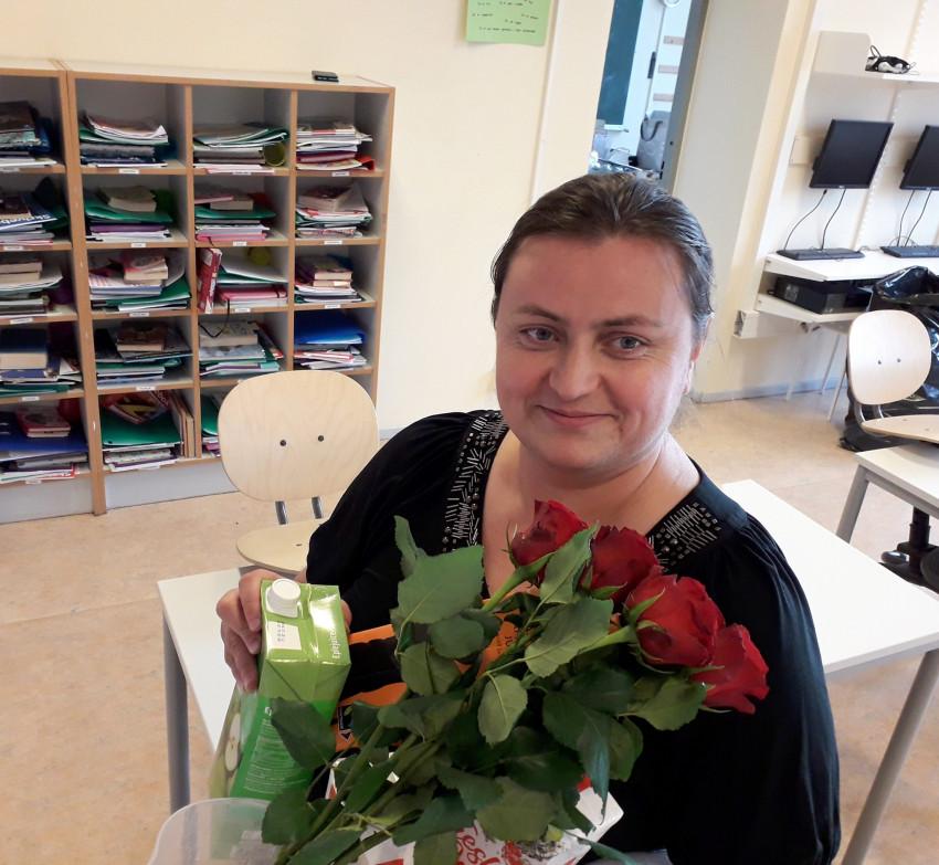 Наша група підтримки - пані Світлана з батьківського комітету