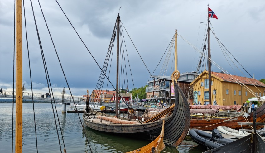Вікінг-фестиваль 2021. Дракари